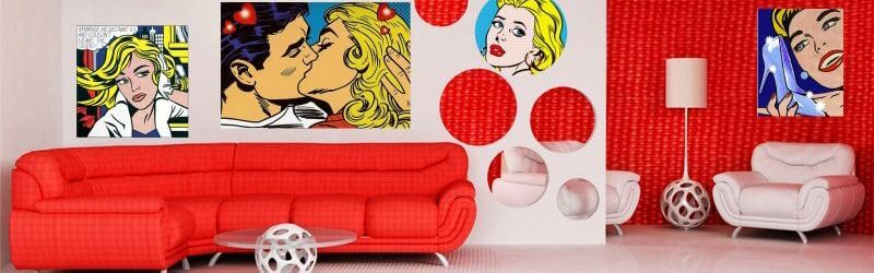 Décoration style Pop Art