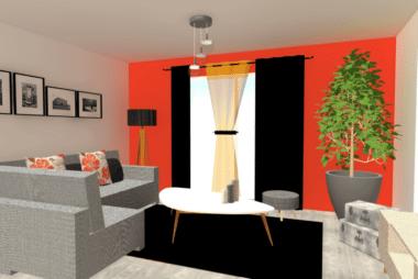 conseils décoration pour un salon-séjour chic et choc