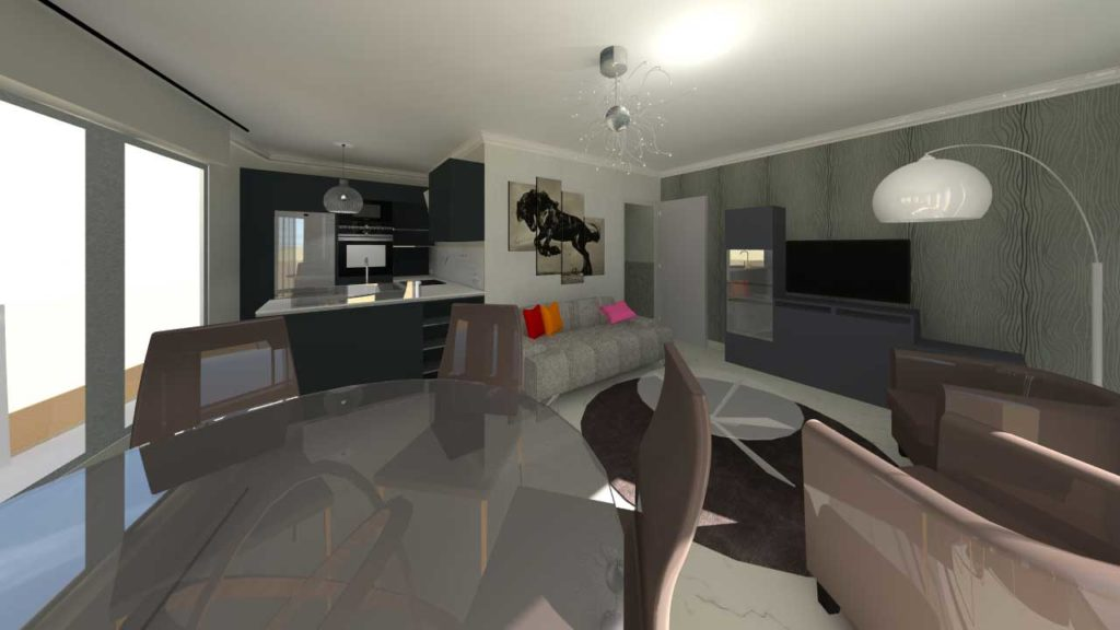 Rénovation à Pornichet : un appartement fait peau neuve