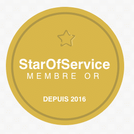 Membre Or Star of Service depuis 2016
