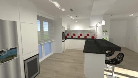 Projet de rénovation d'une cuisine à La Baul