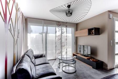 Aménagement et décoration intérieur d'une pièce de vie à Savenay