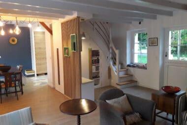 Rénovation d'une pièce de vie et cuisine